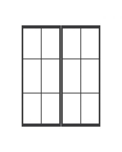 Dubbele taatsdeur 3 blokken
