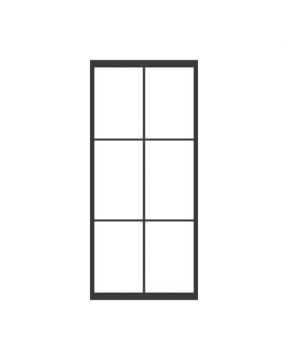 Stalen taatsdeur 3 blokken
