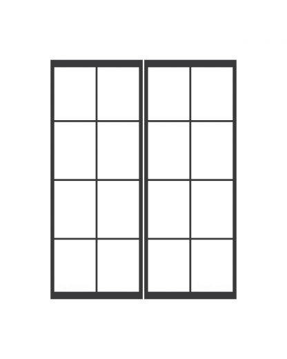 Dubbele taatsdeur 4 blokken